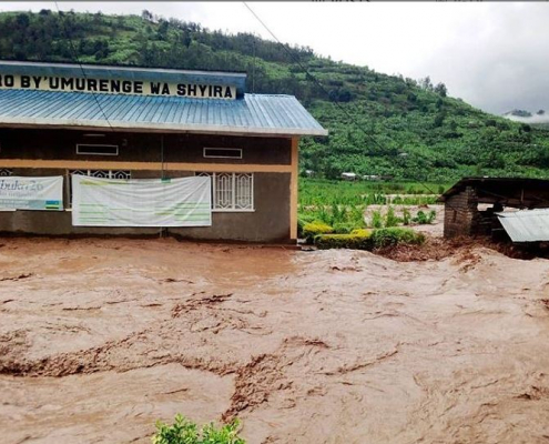 Ruanda Flutkatastrophe