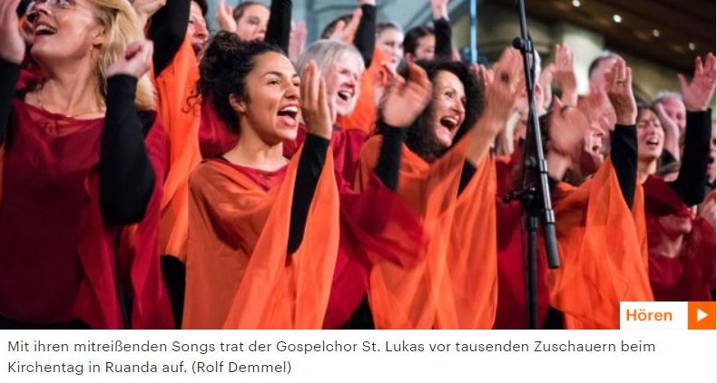 Chor der Woche im Deutschlandfunk